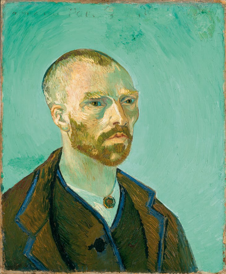 Self-Portrait, (1888), Vincent Van Gogh.