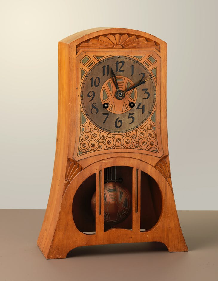 Mantle clock, Chris Wegerif