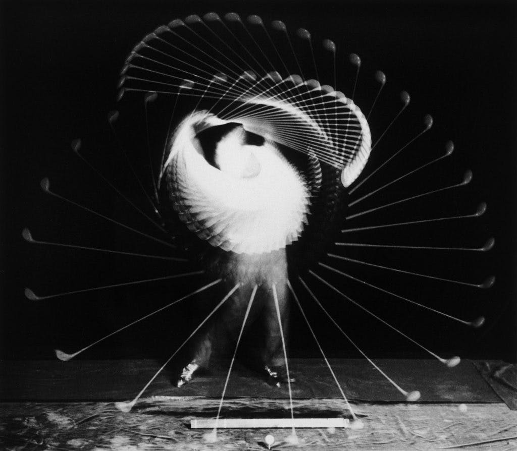Bobby Jones with a Driver, (1938), Dr Harold E. Edgerton; © 2018 Estate of Harold E. Edgerton