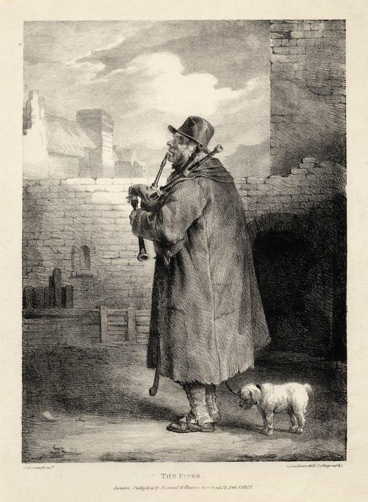 The Piper, Théodore Géricault