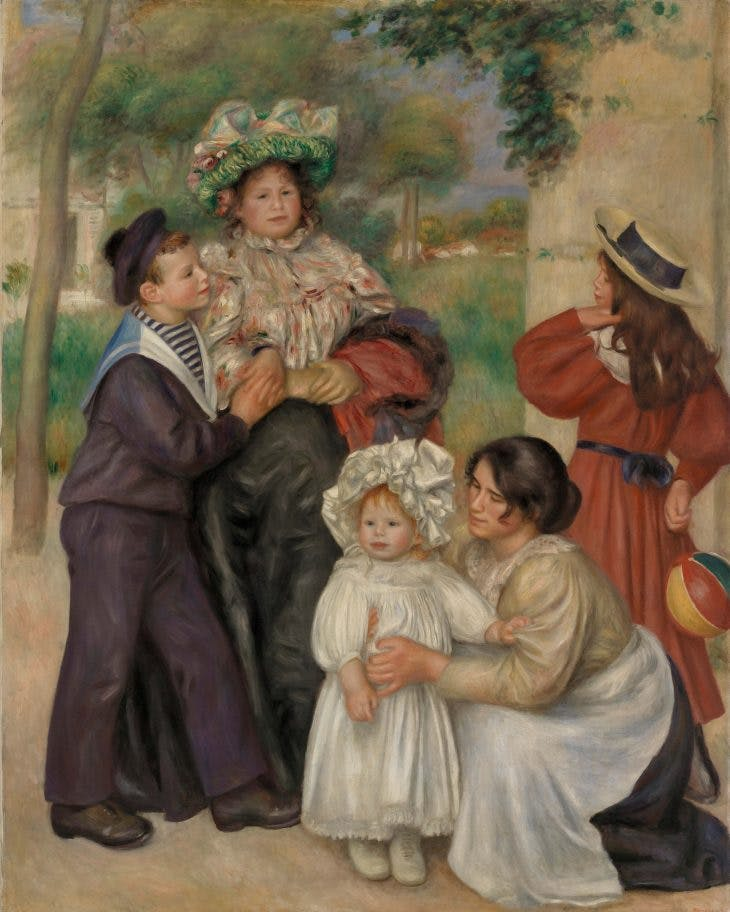 The Artist's Family, Pierre-Auguste Renoir