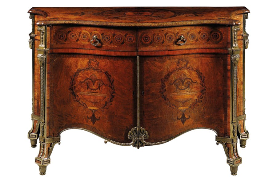 The Harrington Commode. Thomas Chippendale