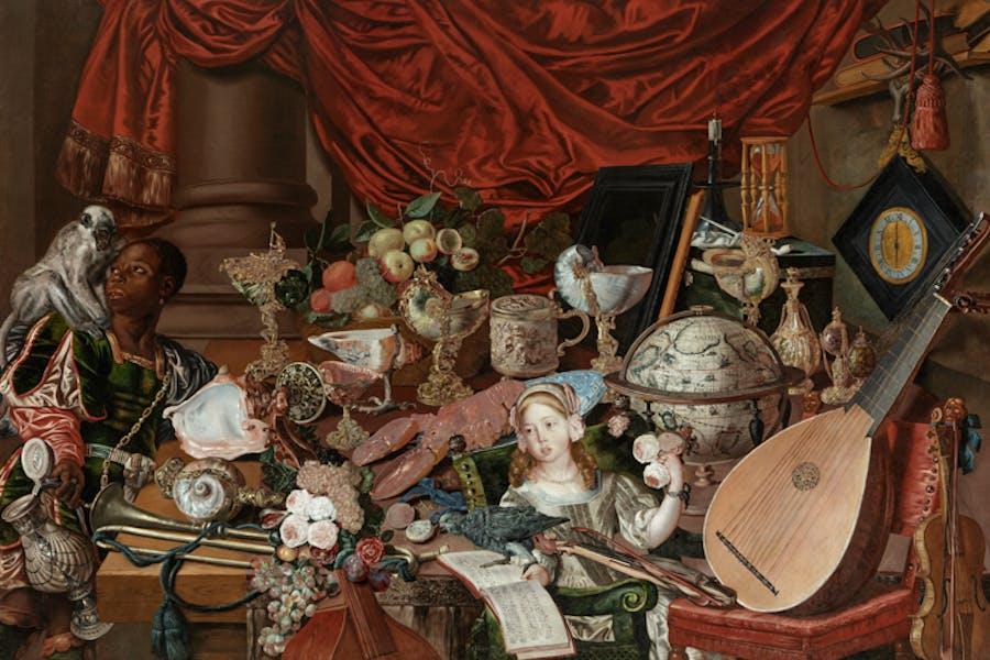 The Paston Treasure (c. 1663), unknown artist (Dutch School). Norwich Castle Museum & Art Gallery, Norwich, UK.