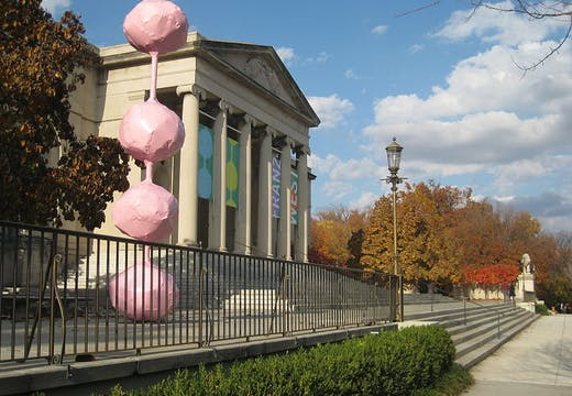 Baltimore Museum of Art, entrance.