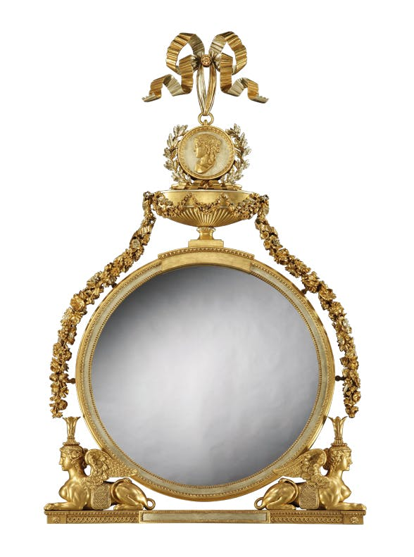 Mirror, Thomas Chippendale.