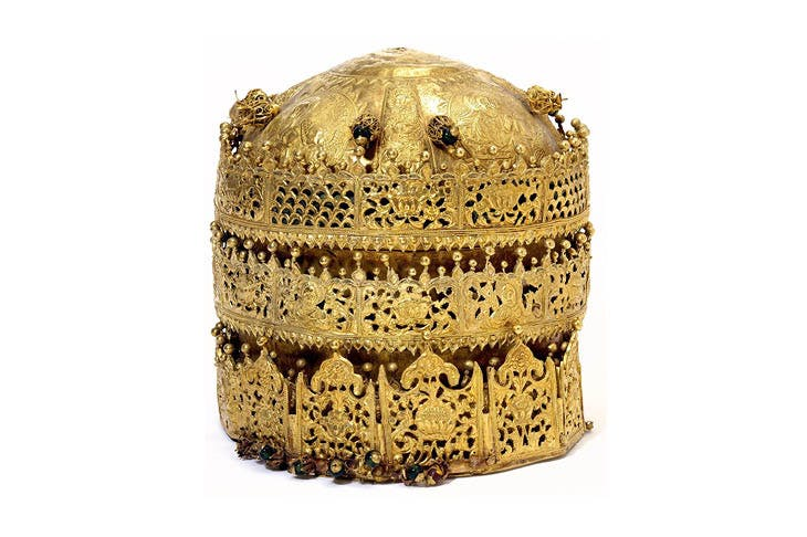 Crown, probably made in Gondar, Ethiopia, around 1740, Victoria and Albert Museum, London