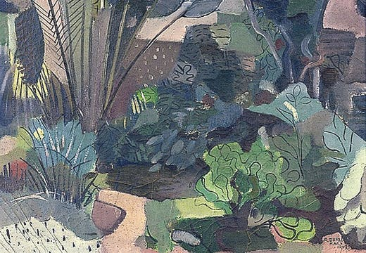 Landscape (1943), Roberto Burle Marx, Brighton and Hove Museums and Art Galleries