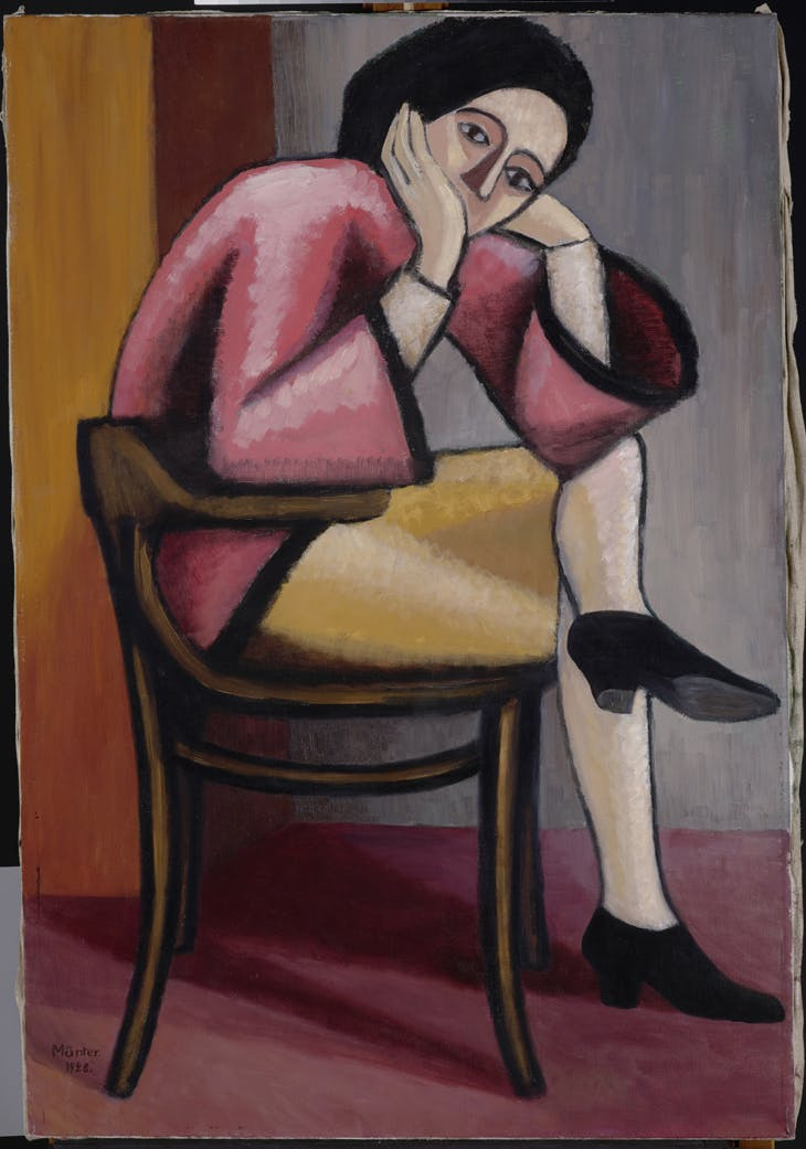 Woman in Thought II, Gabriele Münter