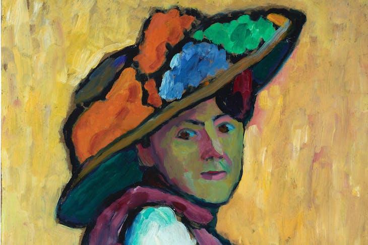 Portrait of Marianne von Werefkin, Gabriele Münter
