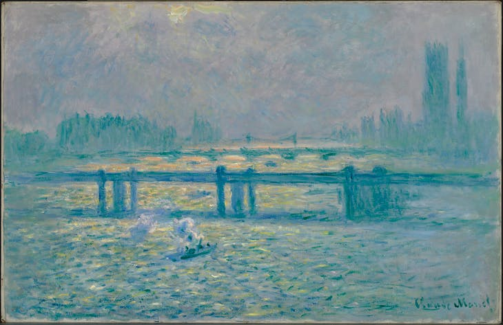 Charing Cross Bridge, Reflections on the Thames (Charing Cross Bridge, reflets sur la Tamise, Claude Monet
