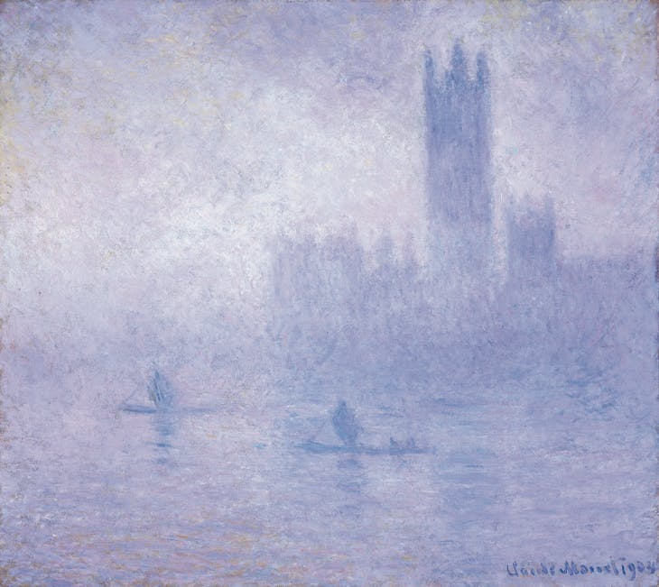 The Houses of Parliament, Fog Effect, Claude Monet