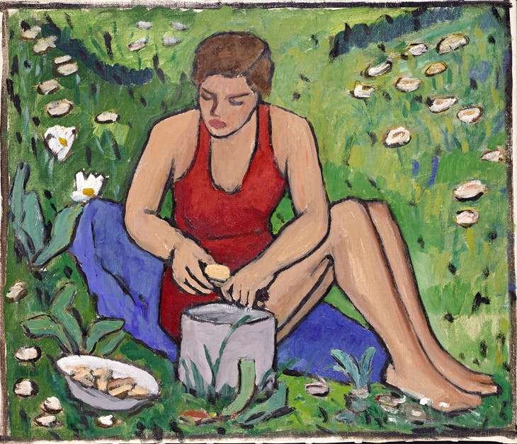 Miss Ellen on the Grass, Gabriele Münter