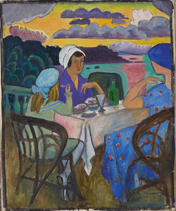 During the Strawberry Season, Gabriele Münter