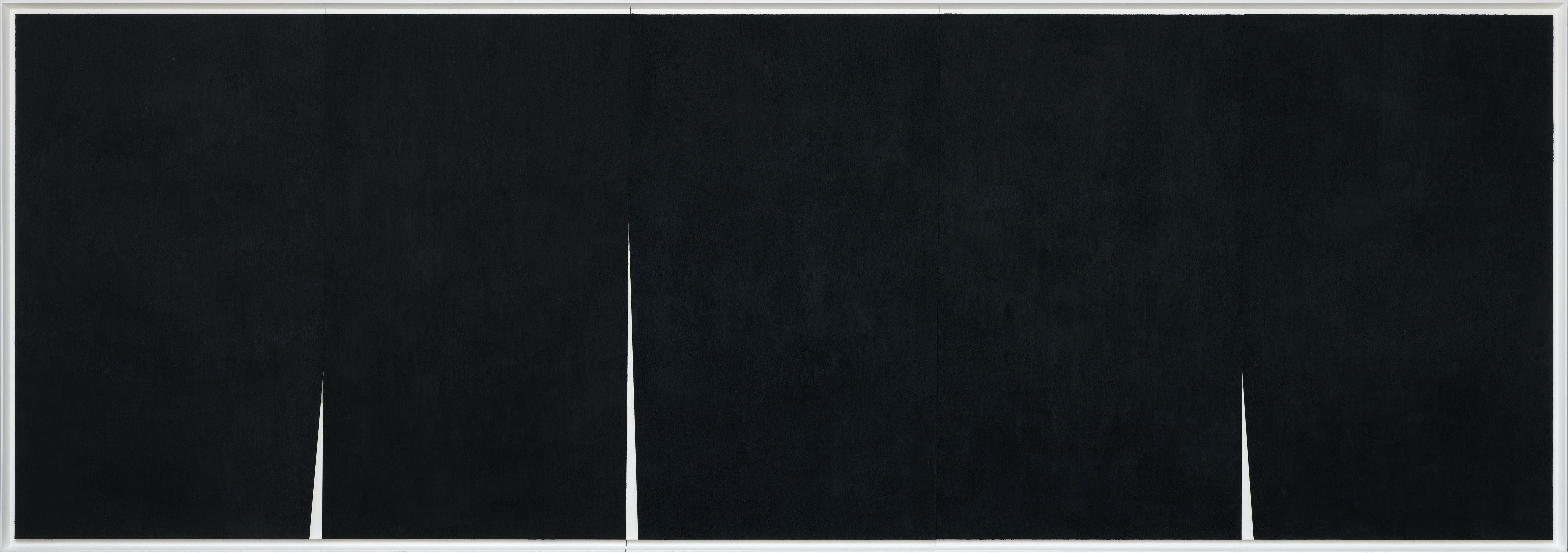 Quadruple Rift (2017), Richard Serra. The Menil Collection, Houston.