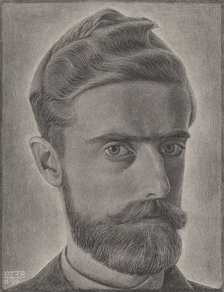 Self-Portrait, M.C. Escher