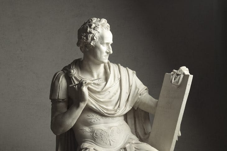 Modello for George Washington, Antonio Canova