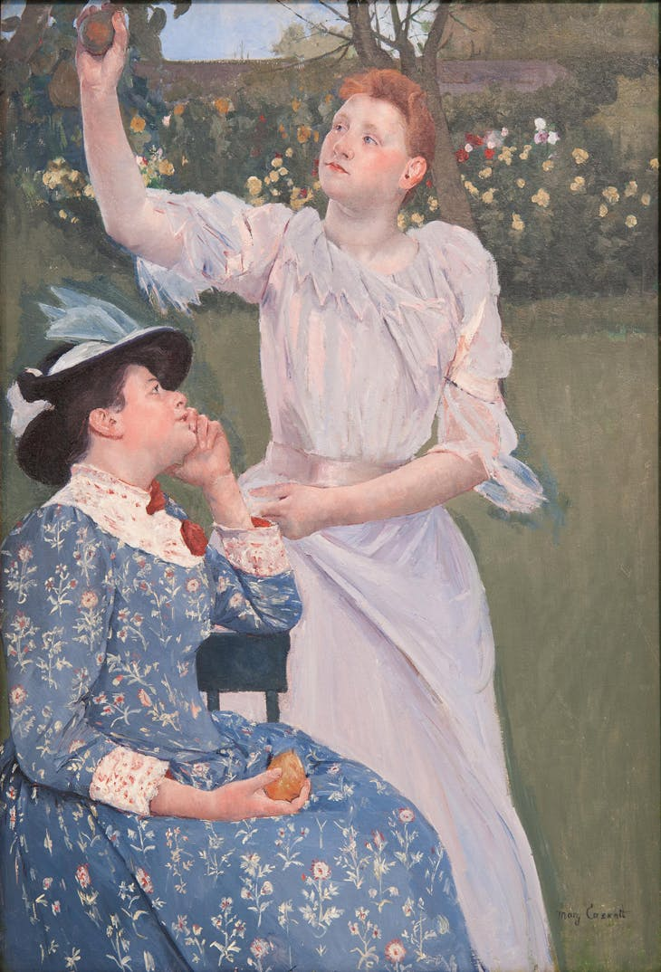 Young Women Picking Fruit, Mary Cassatt