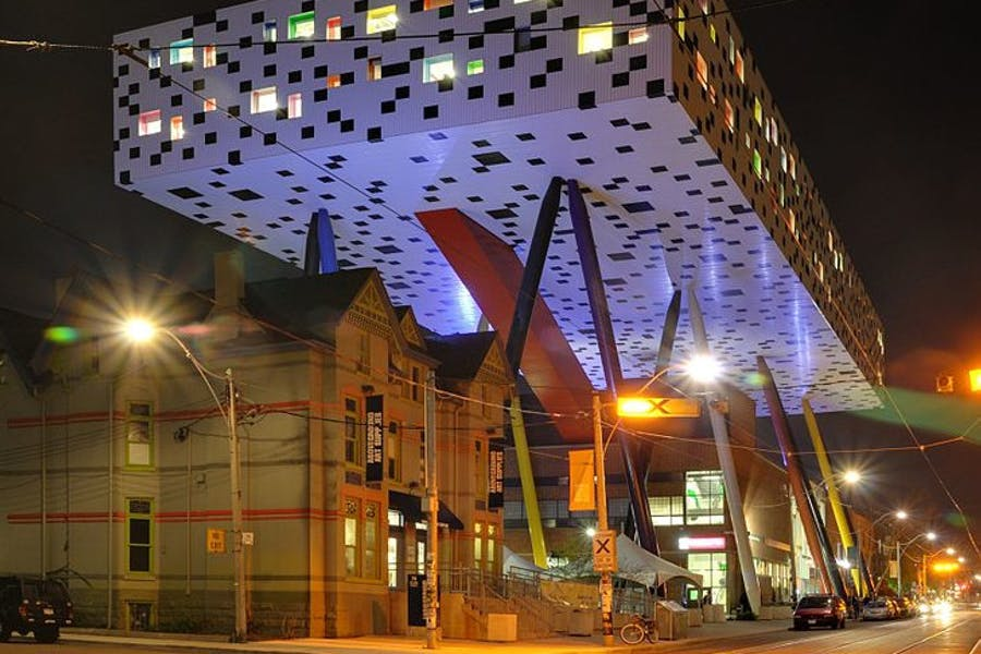 The Sharp Centre for Design, Ontario College of Art and Design, Toronto. Credit: Wikimedia Commons.