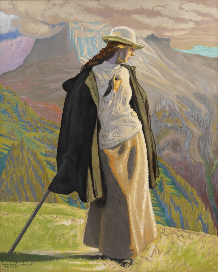 Mountaineer, Jens Ferdinand Willumsen