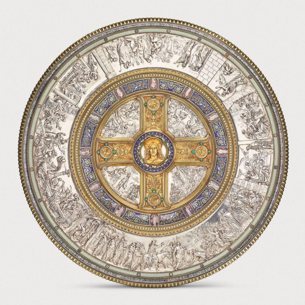 Glaubensschild (Shield of Faith), (1842–47), designed by Friedrich August Stüler, Peter von Cornelius and Alexis-Étienne Julienne.