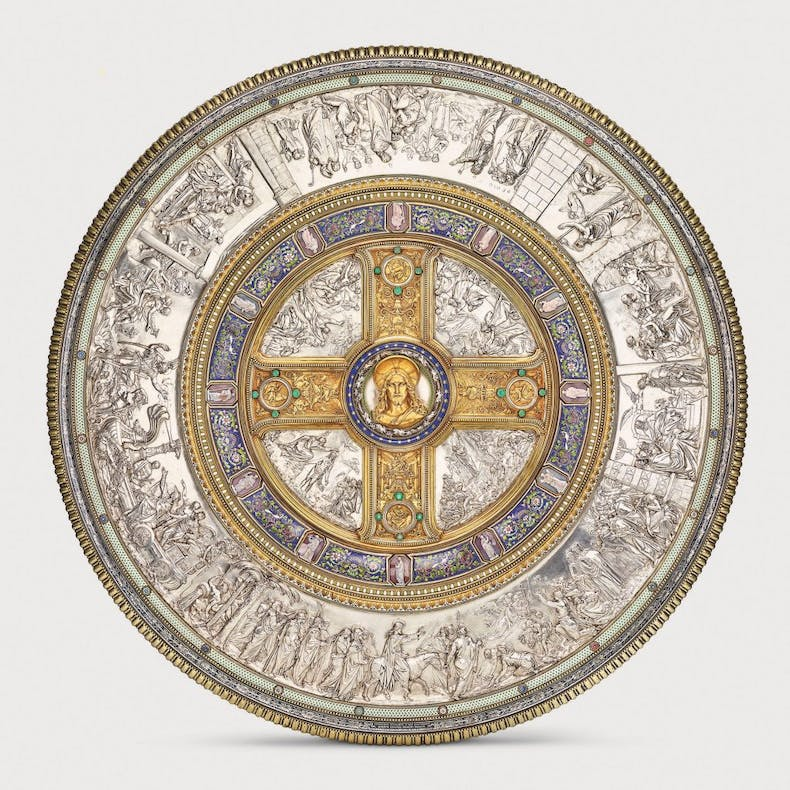 Glaubensschild (Shield of Faith), (1842–47), designed by Friedrich August Stüler, Peter von Cornelius and Alexis-Étienne Julienne.