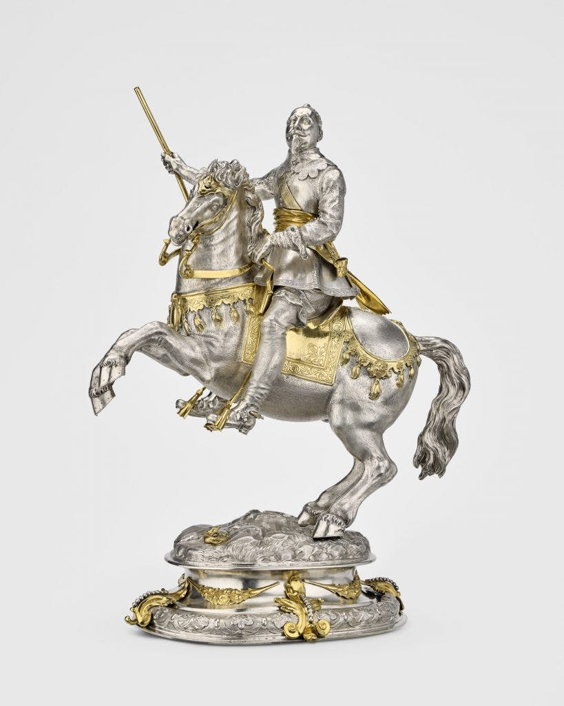 Equestrian statuette of Gustavus II Adolphus of Sweden , (c. 1635), Royal Collection Trust, Photo: Royal Collection Trust/ © HM Queen Elizabeth II 2018