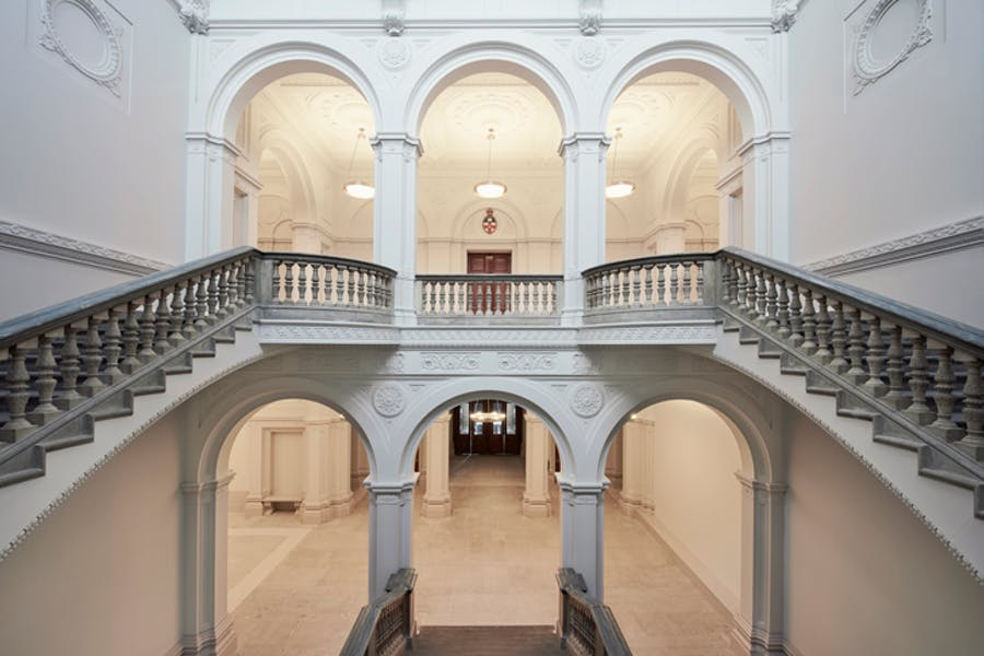 The new Wohl Entrance Hall.