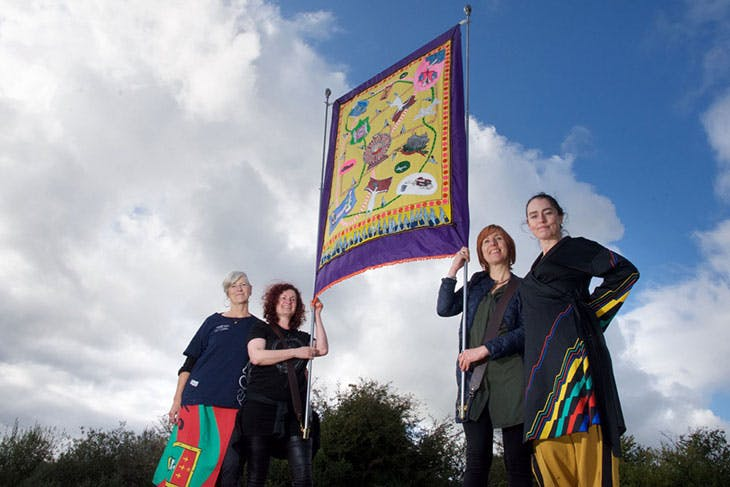 Artists' Campaign to Repeal the Eighth Amendment, Repeal!, members Alice Maher, Rachel Fallon, Áine Phillips and Breda Mayock