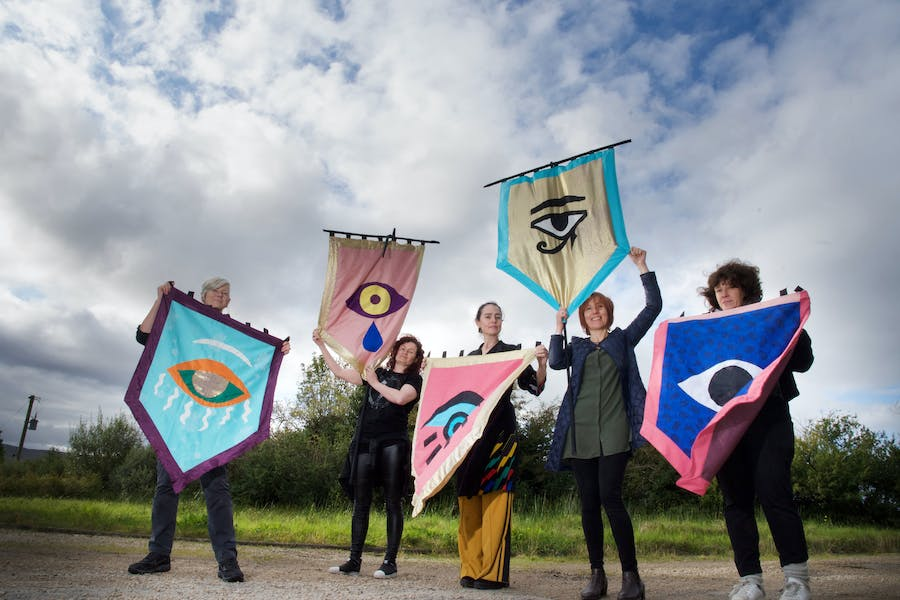 Artists' Campaign to Repeal the 8th Ammendment. Photo: Alison Laredo