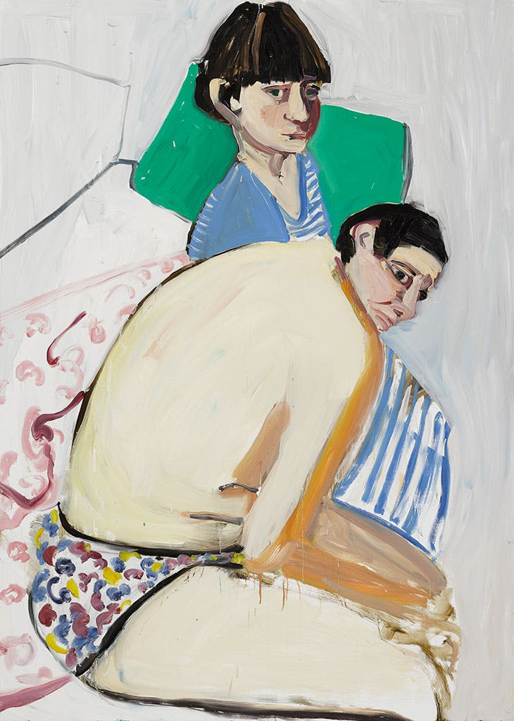 The Squid and the Whale (2017), Chantal Joffe.
