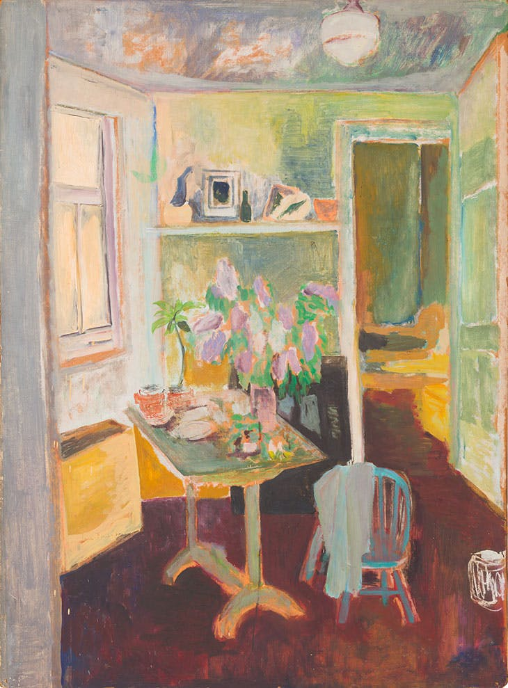 Interior (1953), Jane Freilicher.