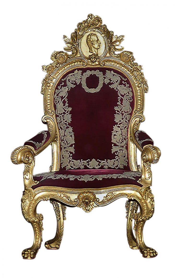 Swell Seats Of Power Through The Centuries Apollo Magazine Inzonedesignstudio Interior Chair Design Inzonedesignstudiocom