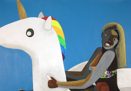 Floater No.28 (unicorn), Derrick Adams