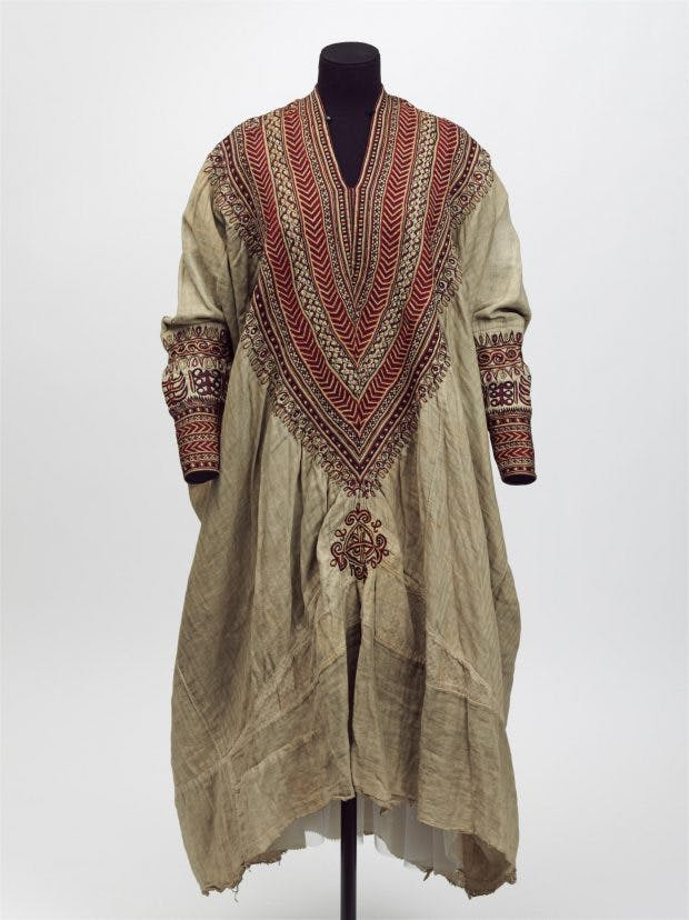 Woman's dress, (1860s), Ethiopia, Victoria and Albert Museum, London