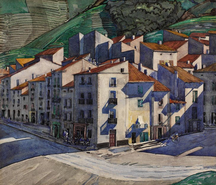 A Southern Town, Charles Rennie Mackintosh
