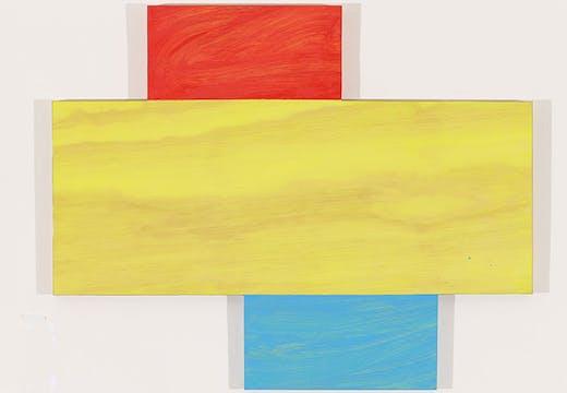 Idriss, (2012), Mary Heilman. Courtesy the artist, Hauser & Wirth, Zurich and 303 Gallery, New York, © Mary Heilman