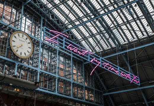 I Want My Time With You (2018), Tracey Emin.