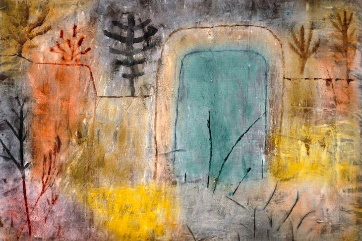 Gateway to the Abandoned Garden, Paul Klee