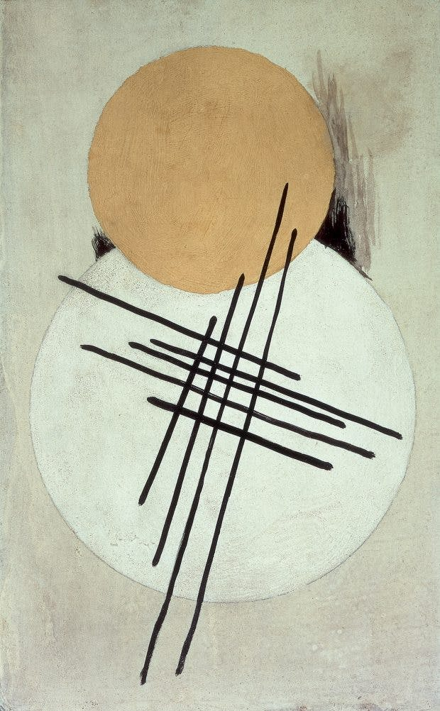 Non-Objective Composition, (c. 1920), Liubov Popova, Courtesy Annely Juda Fine Art