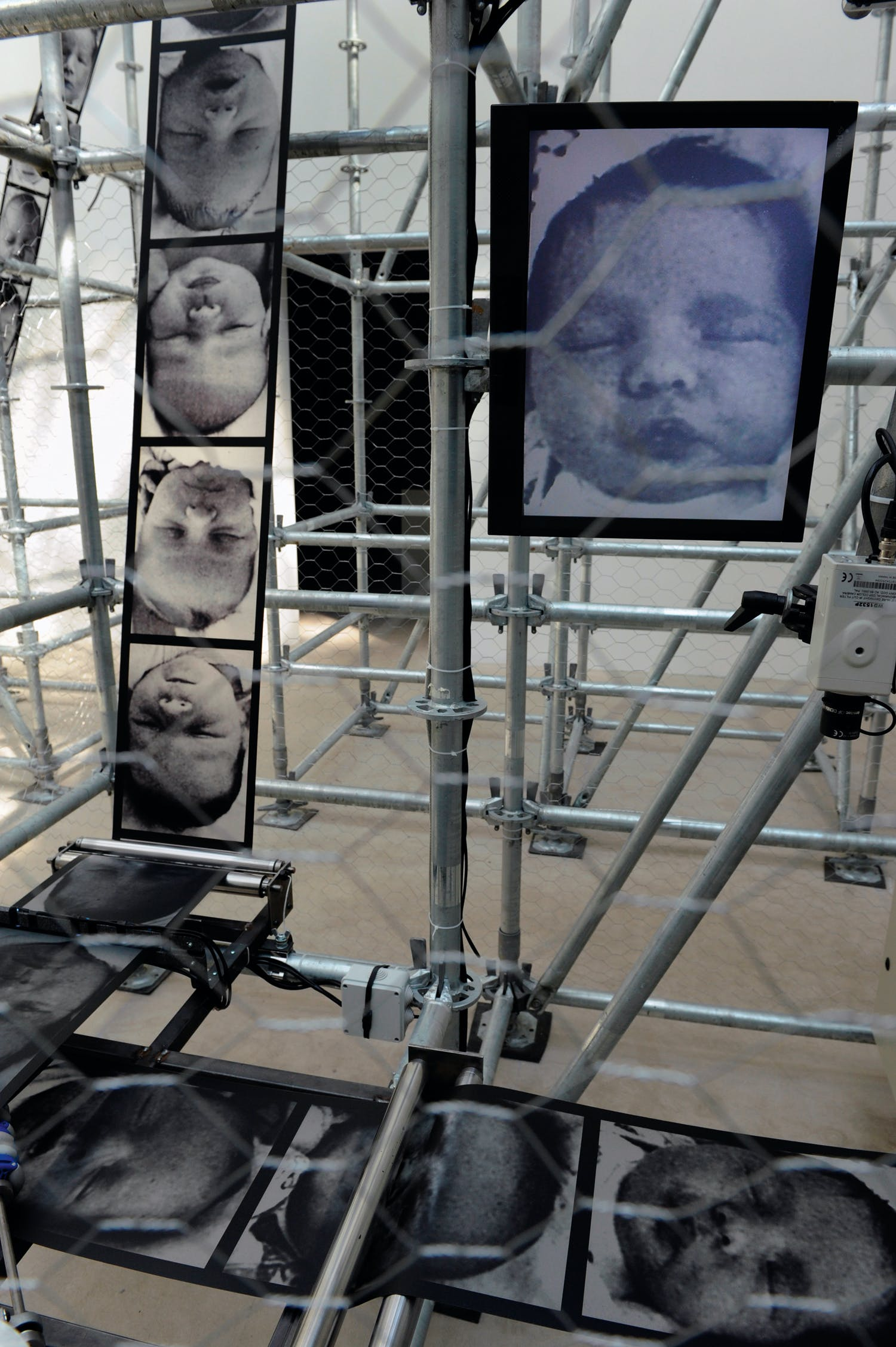 Wheel of Fortune, (2011), Christian Boltanski, photograph of its installation in the French Pavilion at the Venice Biennale, photo: Didier Plowy; courtesy the artist and Marian Goodman Gallery New York, Paris & London; © Christian Boltanski