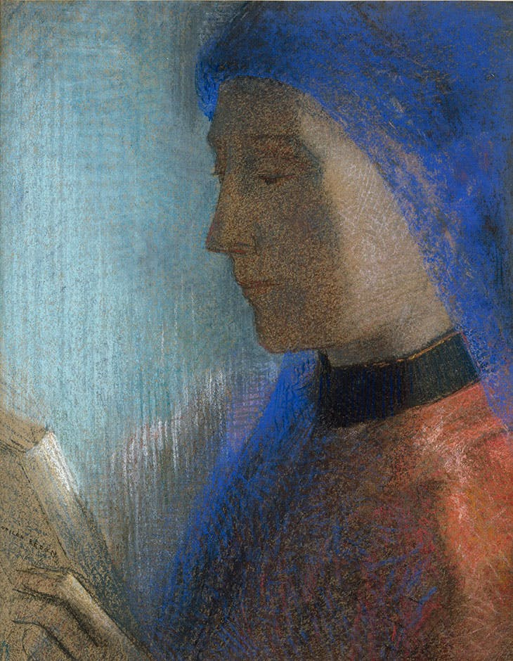 The reader, Odilon Redon