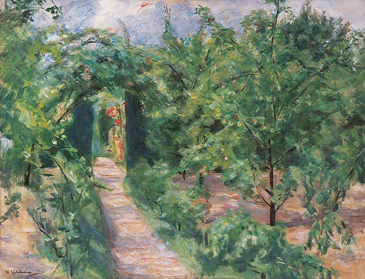 Gate to the rear garden, Max Liebermann