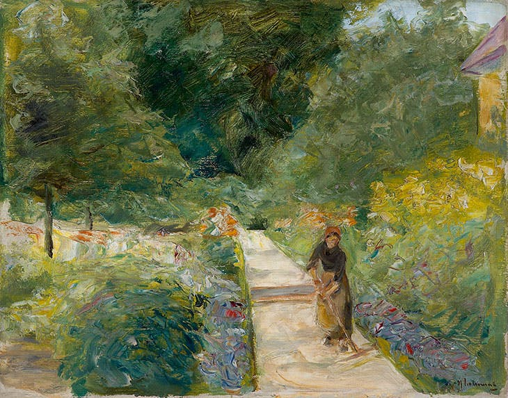 The kitchen garden in Wannsee to the west, on the way, Max Liebermann