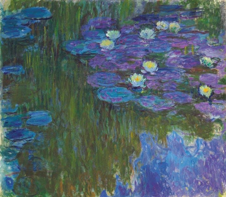 Nymphéas en fleur (c. 1914–17), Claude Monet. $84,687,500