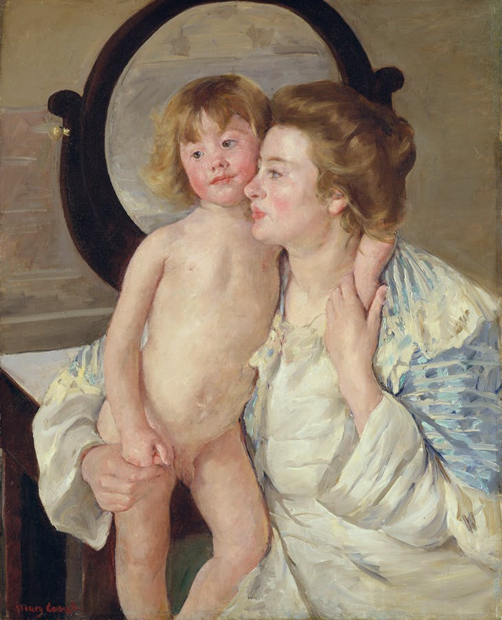 Mother and Child (The Oval Mirror), Metropolitan Museum of Art, New York