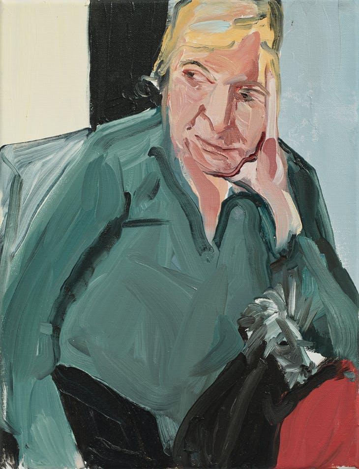My Mother with Fern, Chantal Joffe