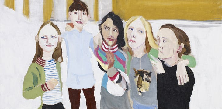 Poppy, Esme, Oleanna, Gracie and Kate, Chantal Joffe
