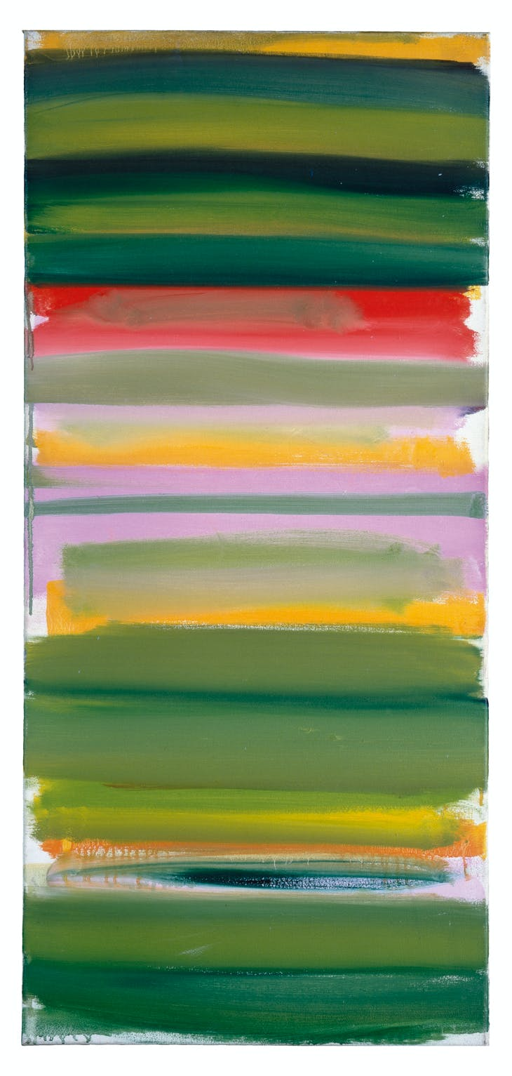 Green and Mauve Horizontals : January 1958, Patrick Heron