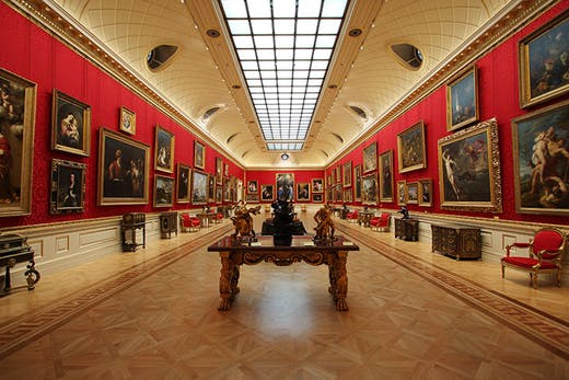 The Great Gallery at the Wallace Collection, London.