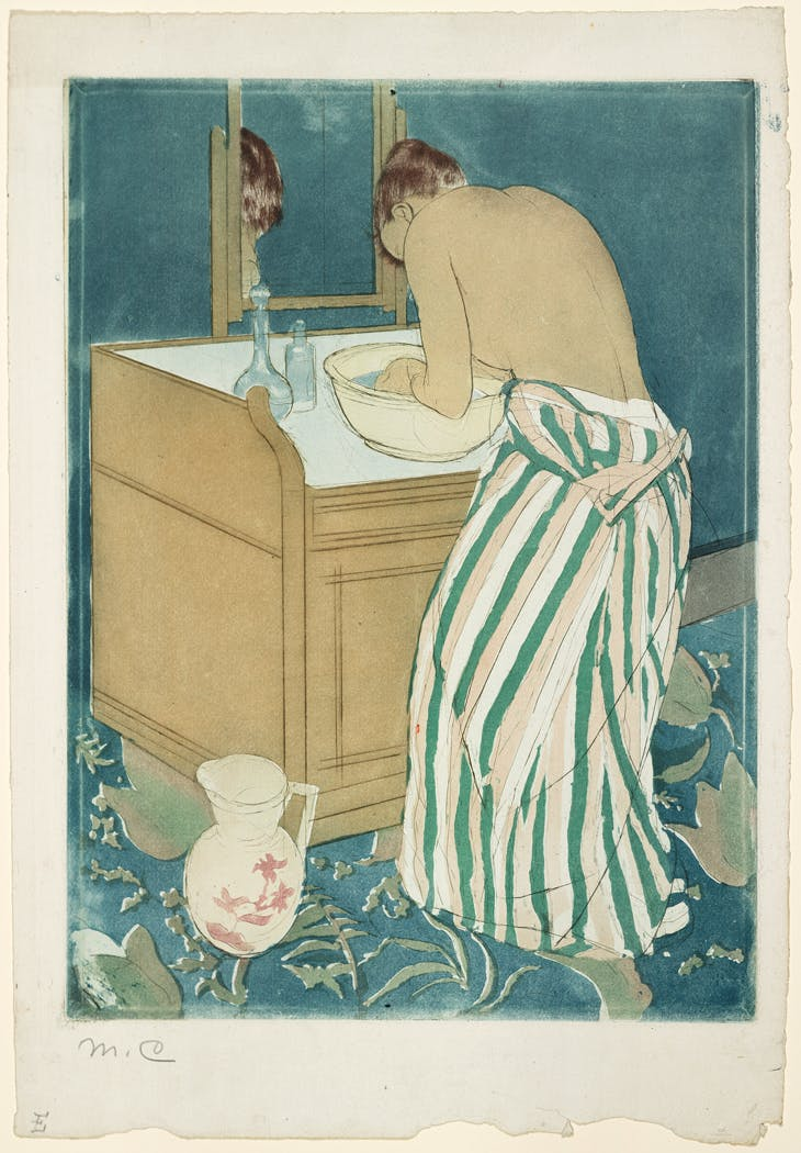 Woman Bathing, (1890–91), Mary Cassatt, Carnegie Museum of Art, Pittsburgh